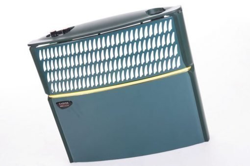 Front view of the Intec FSR1 fitted to a heater.